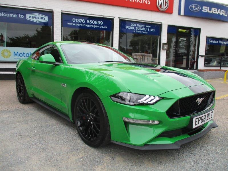Nearly New Ford Mustang Low mileage