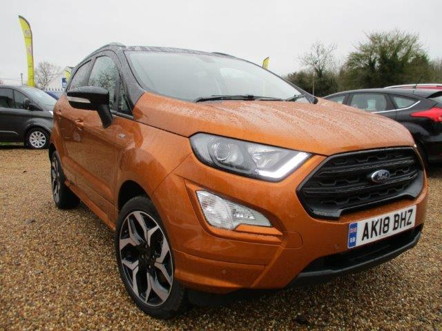 Ford Ecosport ST Line Essex Used