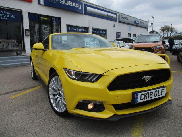 Ford Mustang Used Chelmsford