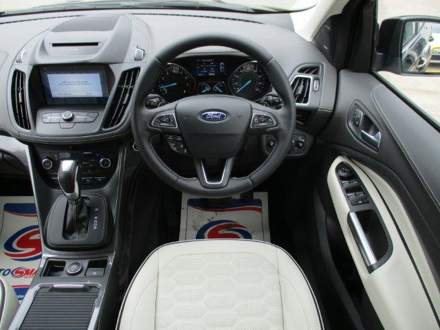 Used Kuga Vignale interior Braintree Essex